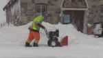 Georgian Bay snow storm