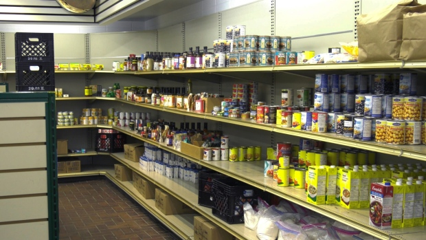 The Melville and District Food Bank is looking for donations as the province heads into the the holiday season. (Kaylyn Whibbs/CTV News)