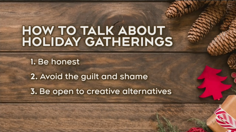 Pressure over holiday gatherings