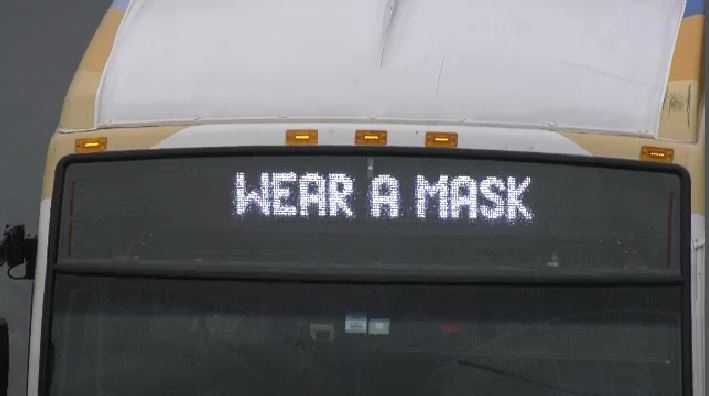 There's support on the street for drivers being able to prevent people from boarding without a mask.