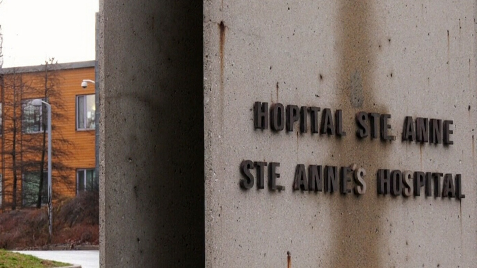 Outbreak at Ste-Anne's Hospital