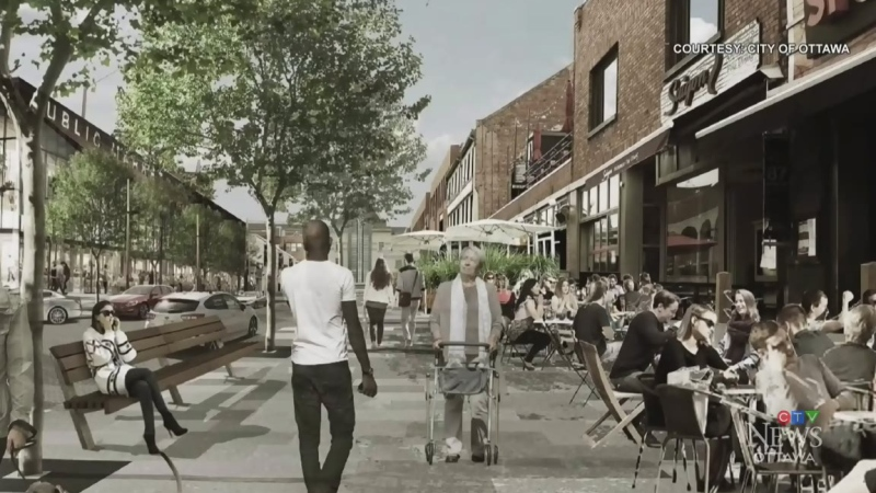 Pedestrians or parking? The Byward Market plan
