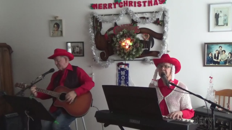 Marcel and Marie Gosselin from Timmins cover Charley Pride's 'Christmas in my Hometown.'