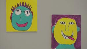 Seniors' self-portraits