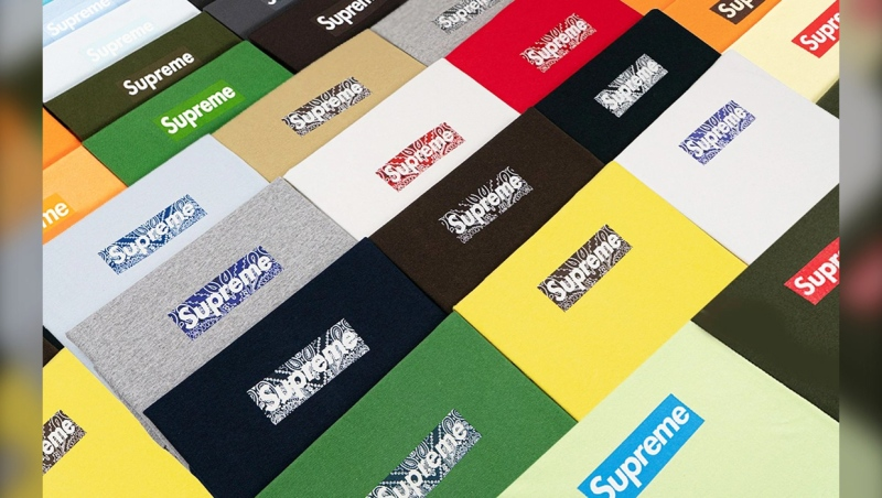 21-year-old James Bogart is auctioning off his rare collection of Supreme t-shirts. It's being touted as the first and only complete collection of every Supreme t-shirt sporting the brand's famous box logo since the brand's inception in 1994