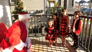 Pandemic not slowing down Santa Claus