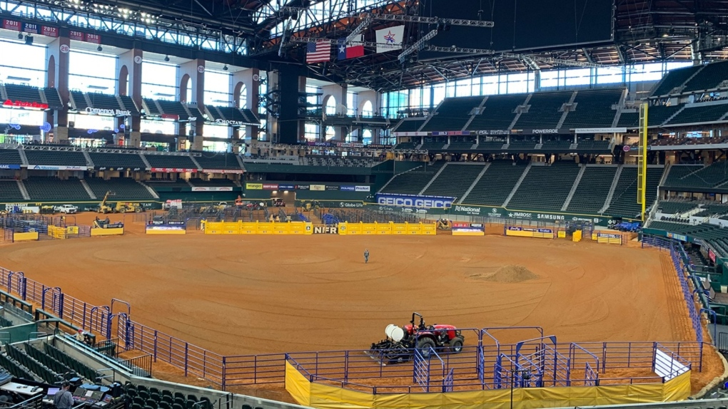 2020 NFR Rodeo prep