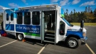 Nova Scotia Health's new mobile testing units are vans that can travel to communities around the province. They are staffed by public health team members trained in testing and investigation processes, such as public health nurses. (Photo via Nova Scotia Health).