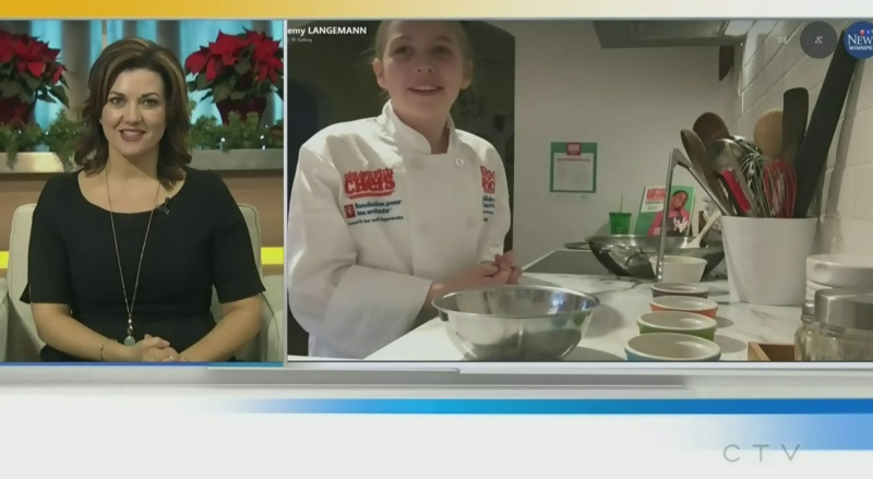 10-year-old Manitoban wins national recipe contest