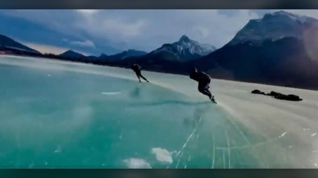 Gap Lake, speed skating, Tyson Langelaar