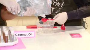 We learn how to make lip gloss and lip scrub with Drip YQR