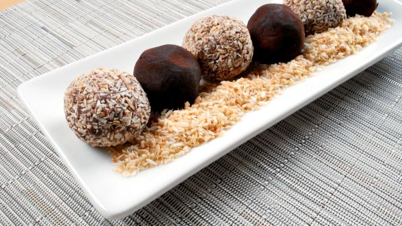 ATCO Blue Flame Kitchen chocolate truffles