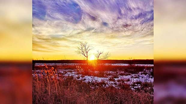 Beautiful Fairford Manitoba. Photo by Candace Bruce.
