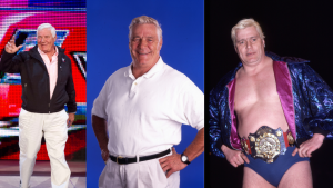Pat Patterson worked with wrestlers to help them develop the narrative beats of their matches and specialized in coming up with memorable finales. He was also the inventor of the Royal Rumble. SOURCE: WWE