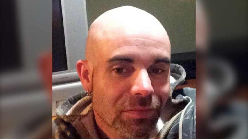 RCMP says Andrew Tyler Shields, 36, hasn't been in contact with his family since February. (RCMP handout)
