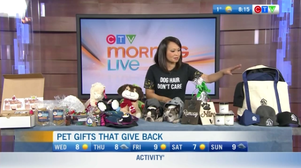 Pet gifts that give back