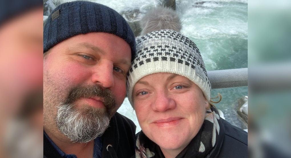 Martin and Lisa Haalstra