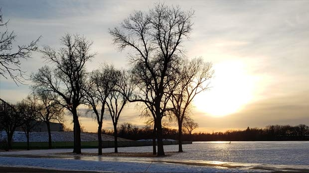 A nice afternoon scene in Assiniboine Park. Photo by Ruth Fortin.