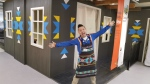 Artist and Bigstone Cree Nation member Lance Cardinal helped IKEA create the company's first-ever showroom in the essence of a modern Indigenous family. (Photo supplied.)