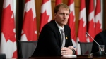 Minister of Indigenous Services Marc Miller participates in a news conference on the COVID-19 pandemic, in Ottawa, on Friday, Nov. 20, 2020. THE CANADIAN PRESS/Justin Tang