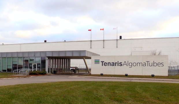 The $81 million expansion builds upon a $36 million investment last year, bringing in a total of 153 new high paying full-time jobs to Sault Ste. Marie's Tenaris facility. (Christian D'Avino/CTV News)