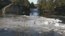 Sudbury conservation authority officials are monitoring after ice jams formed on Vermillion River in Capreol