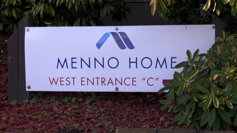Faced with a COVID-19 outbreak, the CEO of Menno Place in Abbotsford has been scrambling to fill staffing shortages. (CTV)