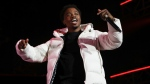 Roddy Ricch performs at the 7th annual BET Experience in Los Angeles on June 21, 2019. (Photo by Mark Von Holden/Invision/AP, File)