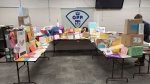 Hundreds of cards and gifts were sent to the OPP for Sarah Hamby, 11, who  is battling cancer for the fifth time. (Supplied by OPP)