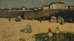 Artist James Wilson Morrice's painting 'La plage' is shown in this handout photo. (THE CANADIAN PRESS/HO, Heffel Fine Art Auction House)