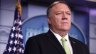 U.S. Secretary of State Mike Pompeo participates in a press briefing in the James S. Brady Press Briefing Room of the White House January 10, 2020 in Washington, DC. (Alex Wong/Getty Images)
