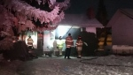 Fire crews responded to a fire inside an Ottewell bungalow early Thursday morning.
