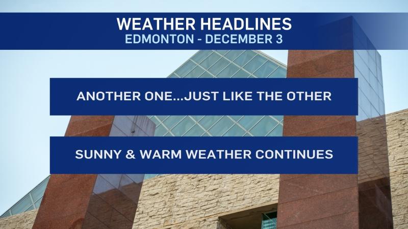 Dec. 3 weather headlines