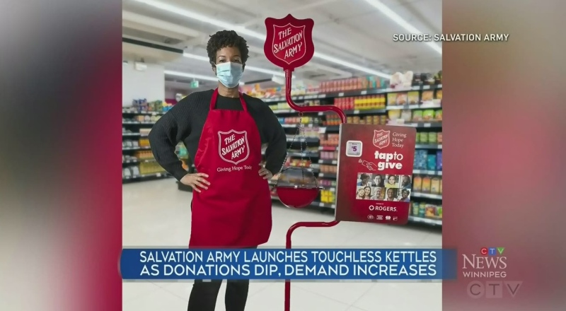 New way to donate to The Salvation Army