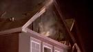 Calgary Nolan Hill fire
