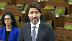Trudeau makes statement in House of Commons