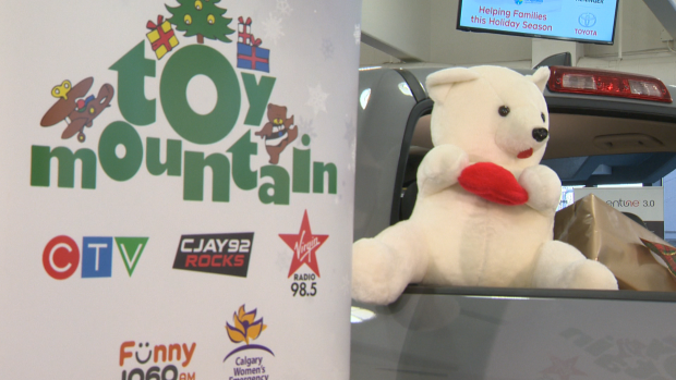 CTV Calgary's 7th Annual Toy Mountain Campaign is growing with donations arriving daily