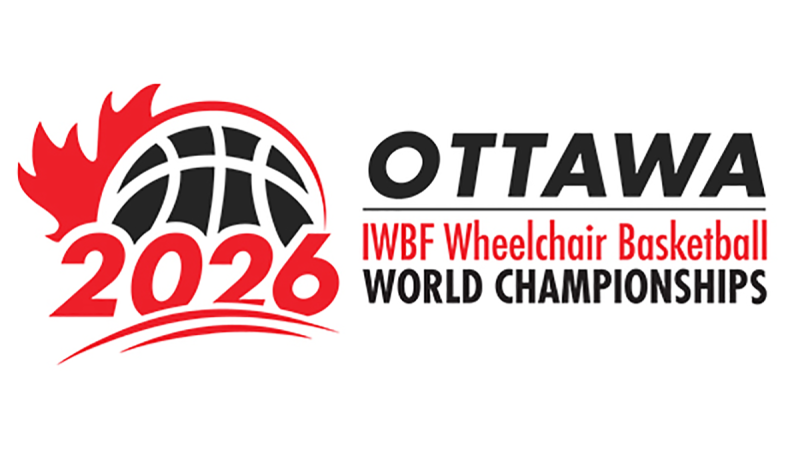 The Wheelchair Basketball World Championships will be held in Ottawa in 2026.