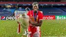 Edmonton's Alphonso Davies won the UEFA Champions League with FC Bayern Munich in August 2020. (Twitter/@AlphonsoDavies)