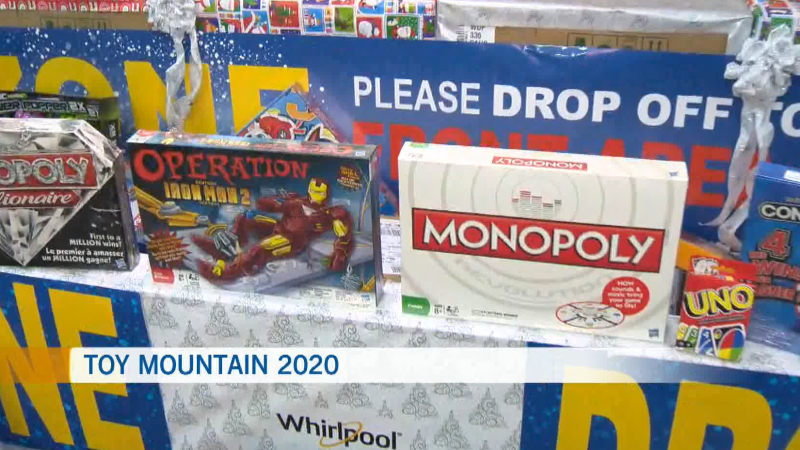 Toy Mountain, Dec. 3, 2020