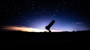 A telescope is seen in this stock photo. (Patrick Hendry/Unsplash)