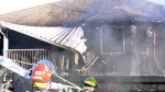 A Surrey home was gutted by a house fire on Dec. 2, 2020.