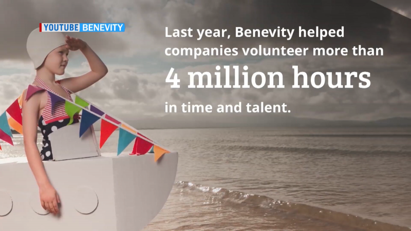 A controlling share in Benevity, a Calgary-based software firm that creates programs for monetary or volunteer donations, has been sold to UK-based Hg. (YouTube/Benevity)