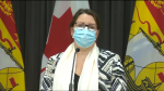 Dr. Jennifer Russell said the test results are back from another round of testing at Parkland Saint John and all residents tested negative.