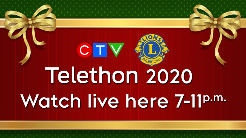 Watch the CTV Lions Telethon Live 2020