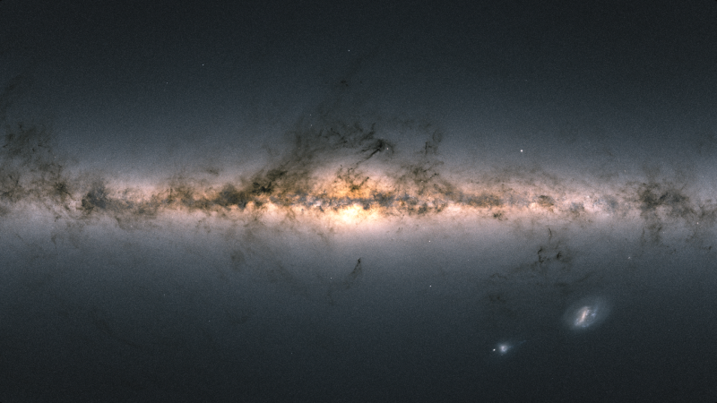 A new map of the Milky Way captured by the Gaia spacecraft shows more than 1.8 billion stellar positions.