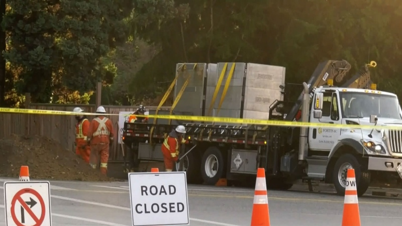 Gas leak in West Vancouver prompts evacuations