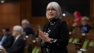 Health Minister Patty Hajdu responds to a question during Question Period in the House of Commons Thursday December 3, 2020 in Ottawa. THE CANADIAN PRESS/Adrian Wyld