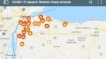 School tracker map in Windsor-Essex. (Courtesy Google Maps)