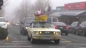Mustang Santa. (CTV News)